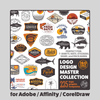 Logo Design Master Collection - for Adobe, Affinity, CorelDraw