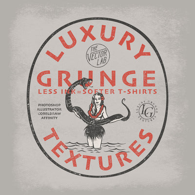 Luxury Grunge T-Shirt Textures for Photoshop and Illustrator