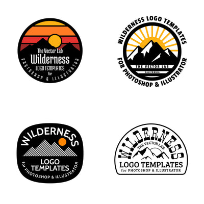 Wilderness - Logo Design Master Collection
