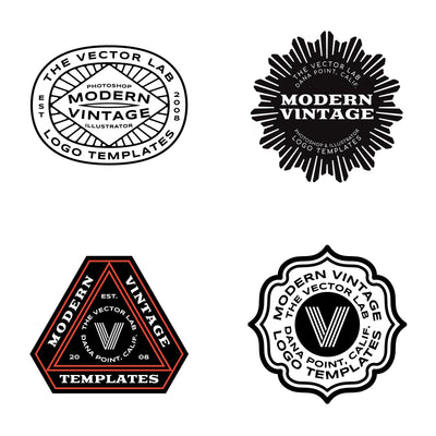 Modern Vintage - Logo Design Master Collection