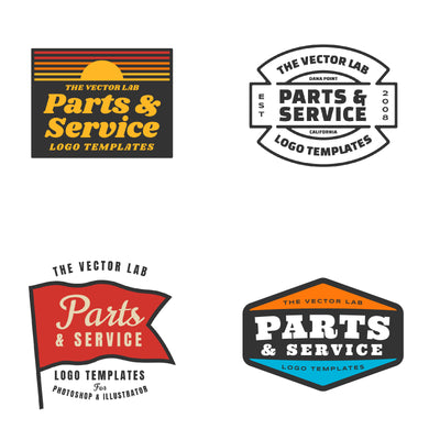 Parts & Service - Logo Design Master Collection