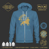 Men's Hoodie Sweatshirt Mockup Templates for Photoshop and Illustrator