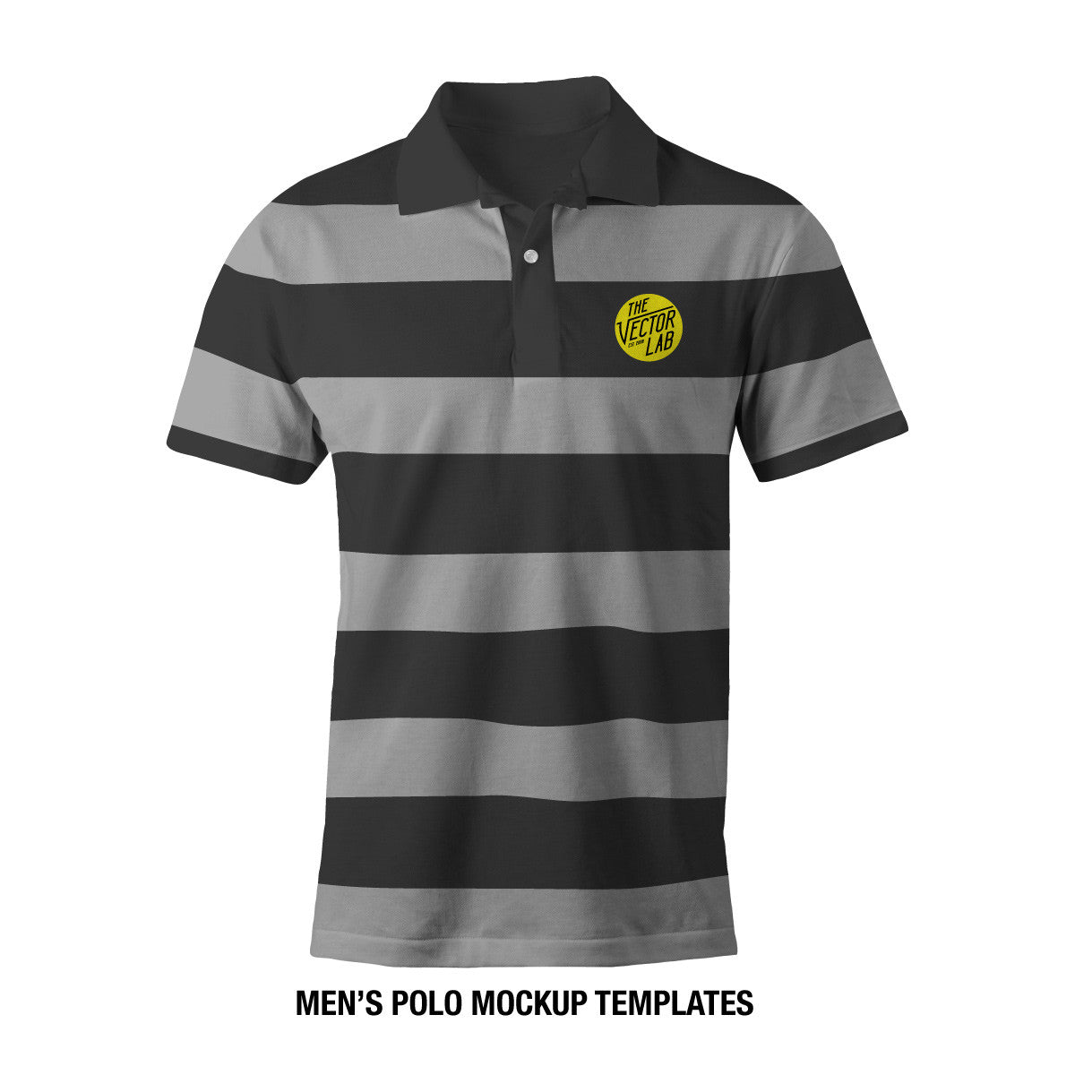 f668045c Men's Polo Mockup Templates - Photoshop PSD and Adobe Illustrator ...