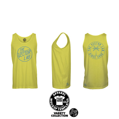 Men's Tank Top Mockup Templates for Photoshop