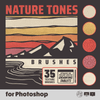 Nature Tones Brushes for Photoshop