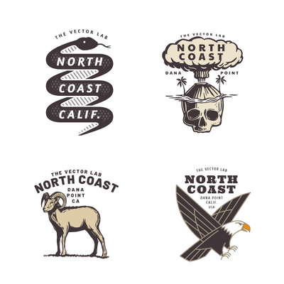 NORTH-COAST-T-SHIRT-ILLUSTRATOR-PHOTOSHOP