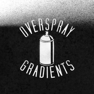 Overspray Gradients: Spray paint textures for Photoshop and Illustrator