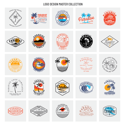 Paradise - Logo Design Master Collection
