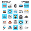 Snow Day Graphic & Logo Templates for Adobe, Affinity, CorelDraw