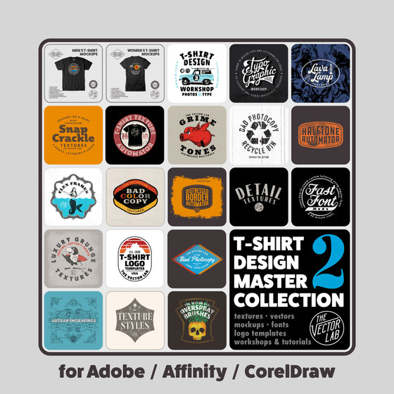 T-Shirt Design Master Collection - TheVectorLab