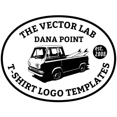 T-Shirt Logo Templates for Photoshop and Illustrator