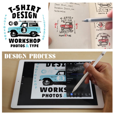 T-Shirt Design Workshop 3 - Sketching