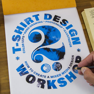 T-Shirt Design Workshop 02: Mixed Media Design