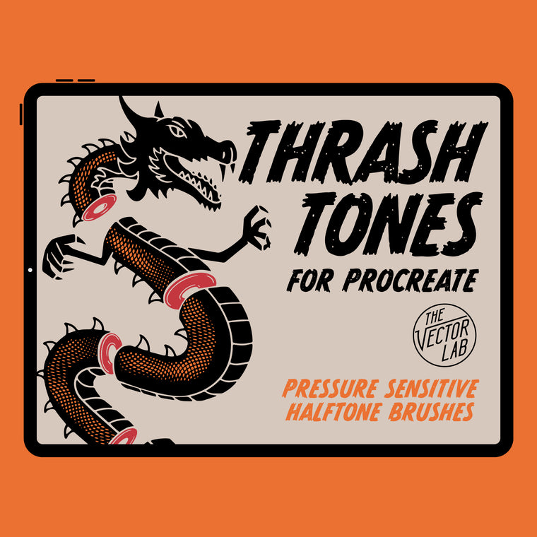 ThrashTones Brushes for Procreate (iPad)