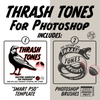 ThrashTones - Unique Halftones for Photoshop