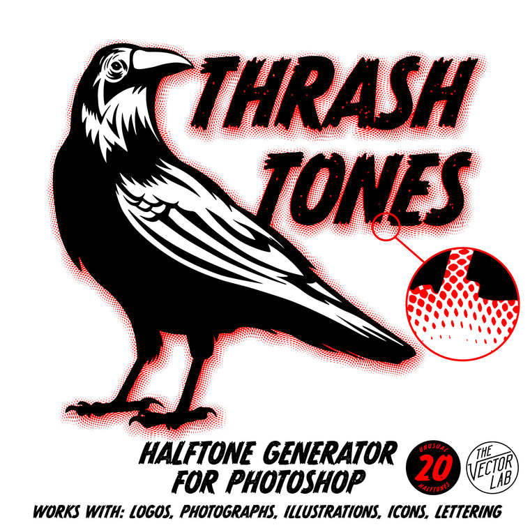 ThrashTones - Halftone Generator for Photoshop