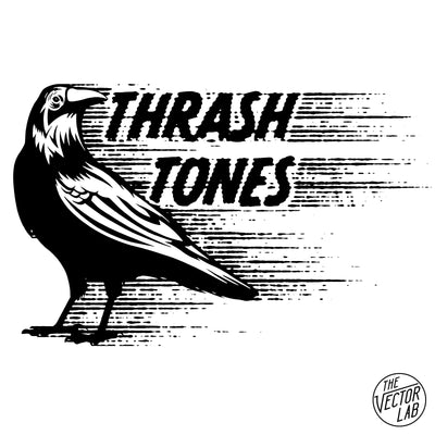 ThrashTones - Speed Blur Halftone Effect