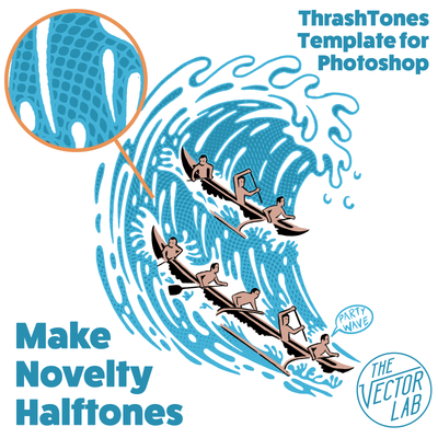 ThrashTones Halftone Generator for Photoshop