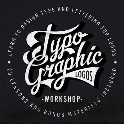 Typographic Logos Workshop. Typography and Lettering for Logo Designs