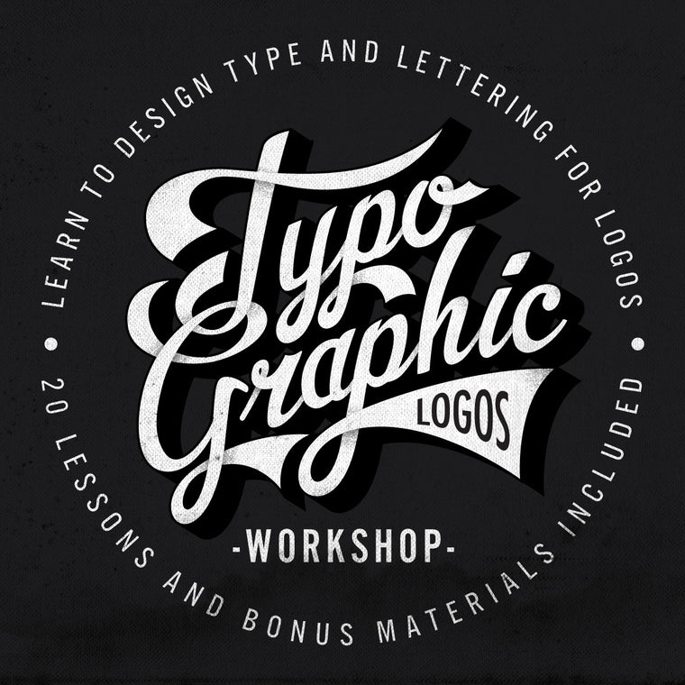 Typographic Logos Class - Learn Typography and Lettering for Logo Design