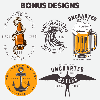 Uncharted Waters - Bonus Designs