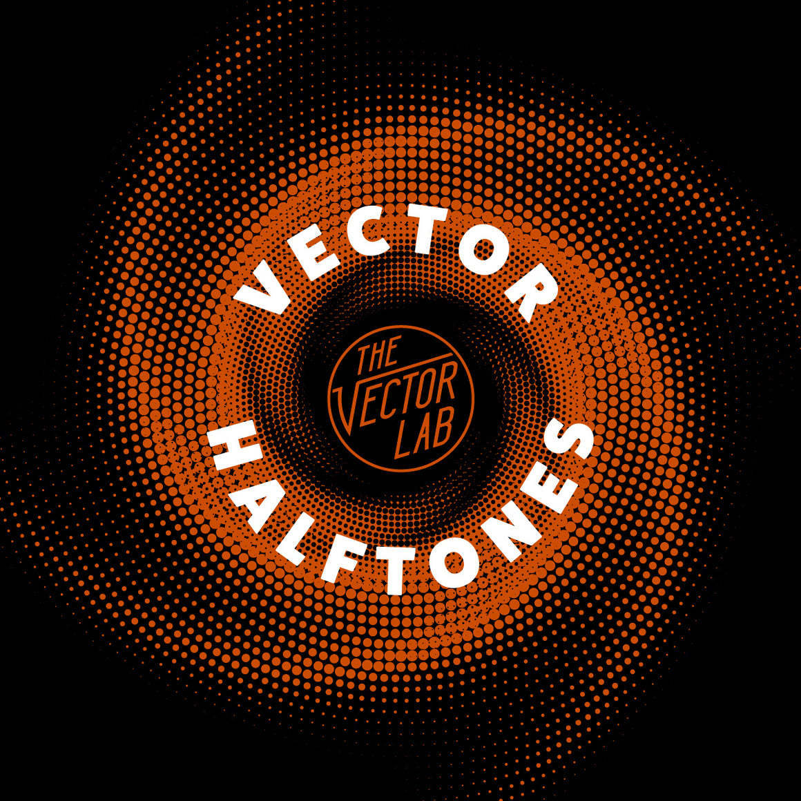 Vector halftone patterns and textures for Photoshop and Illustrator