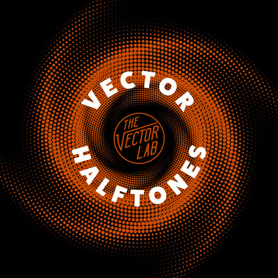 Vector Halftones for Photoshop, Illustrator, CorelDraw, and Affinity Designer