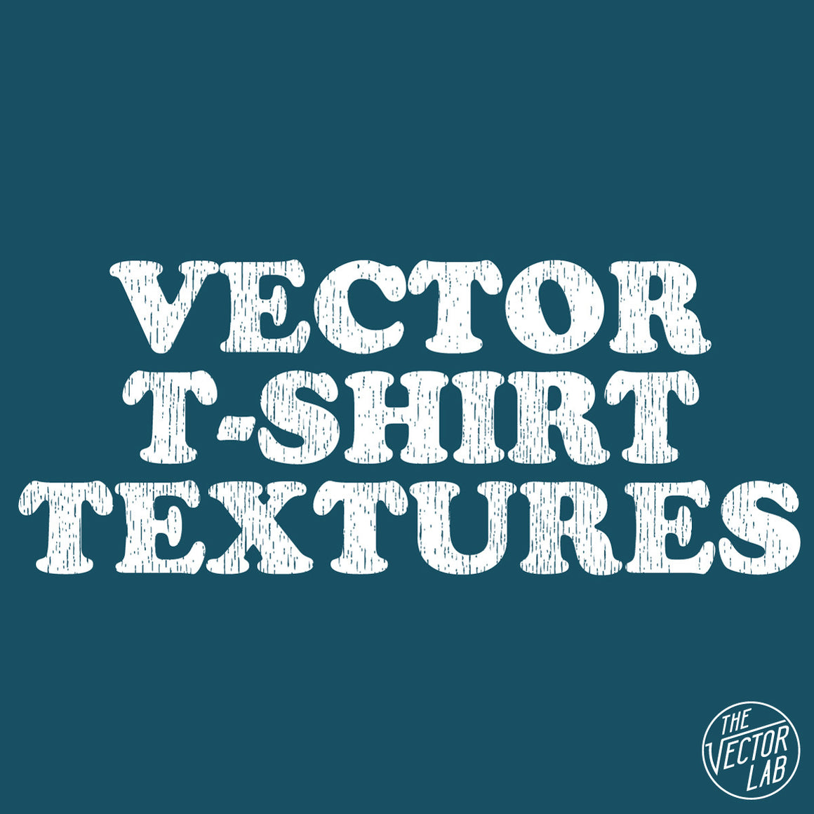 Vector T-Shirt Textures for Illustrator and Photoshop