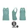 Women's Racerback Tank Top Mockup Templates for Photoshop