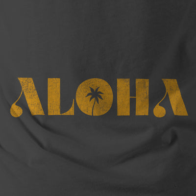 Aloha - Thrift Shop Vintage Texture Template for Photoshop - Make your T-Shirt Graphics Look Real