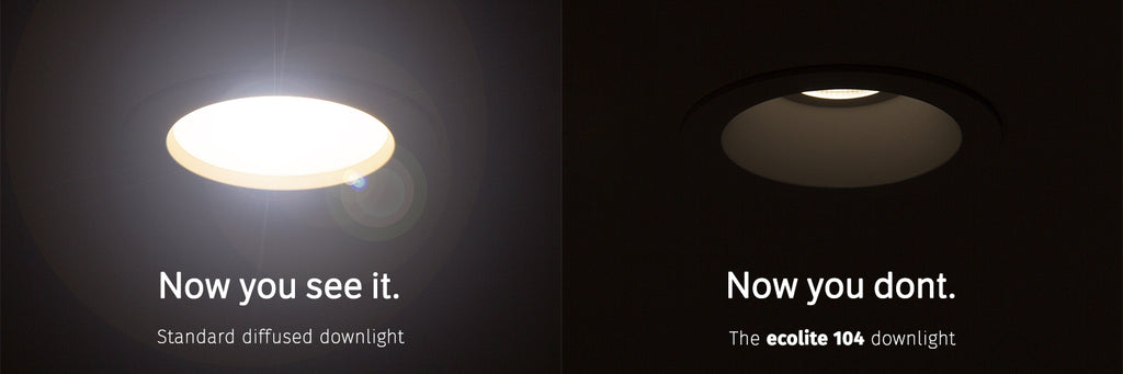 low glare led downlight comparison 2020 recessed vs low glare flush mount downlights suck go for recessed and control the light