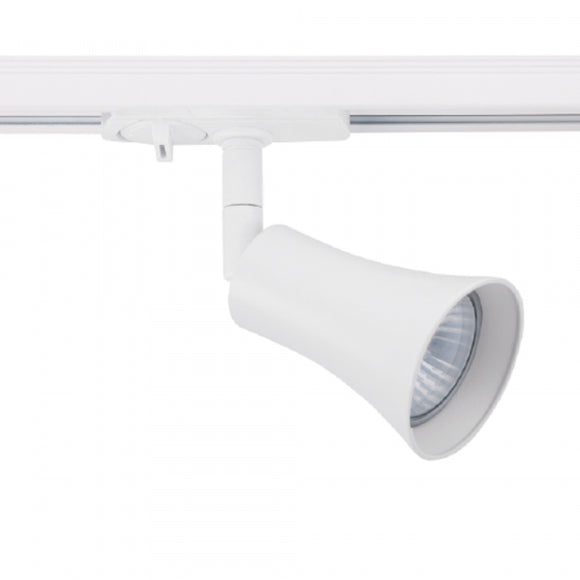 budget led track light in white single circuit adjustable from Australia