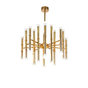 Replica Chandelier in Gold