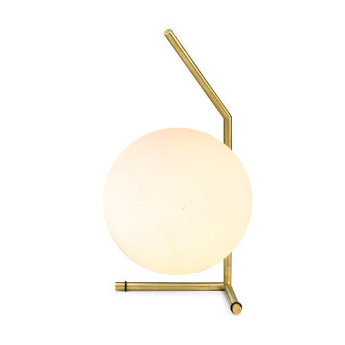 Replica Flos IC T1 Low Table Lamp in Satin Brass