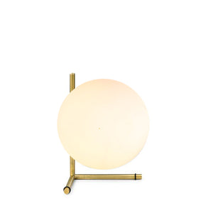 Replica Flos IC T2 Low Table Lamp in Satin Brass