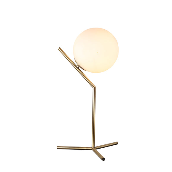 Replica Flos IC T1 High Table Lamp in Satin Brass