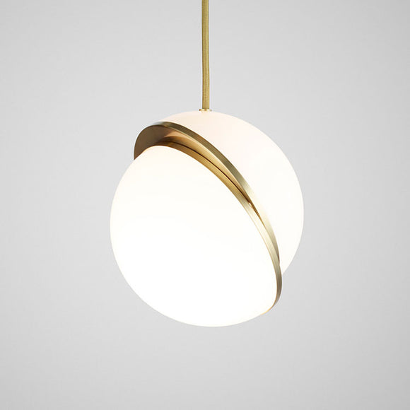 replica lee broom crescent pendant acrylic modern diffused pendant