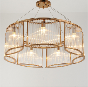 Cascade Module Chandelier Brass in Various Sizes & Colours