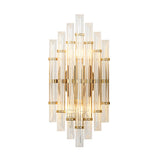 Glee Crystal & Stainless Steel Wall Light