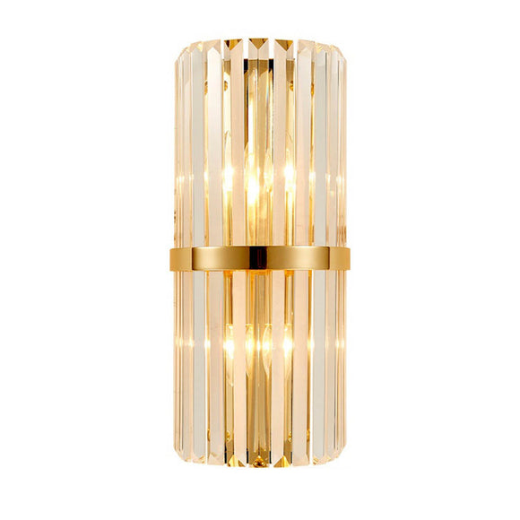 Delight Crystal & Stainless Steel Wall Light