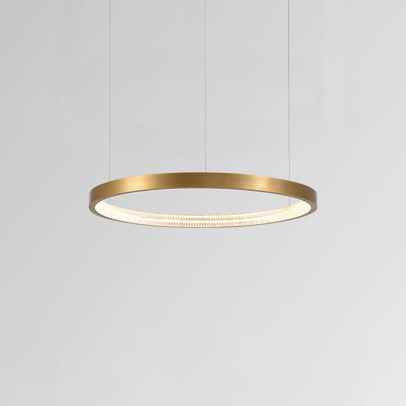 Halo II Luxe Modern Ring Pendant Light 40cm