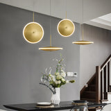 Saucer Pendant light 20cm 30cm 40cm in Horizontal or Vertical Position