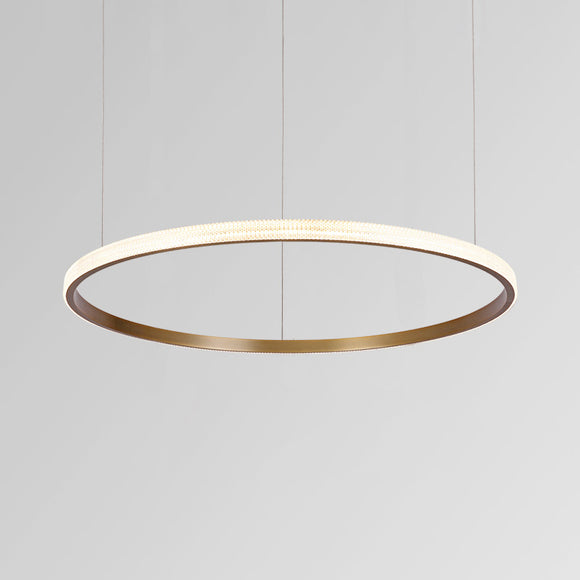 Halo II Luxe Modern Ring Pendant Light 60cm