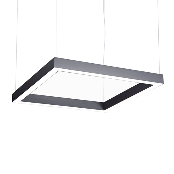 zlights square dimmable suspended pendant light modular 2020 interior systems