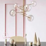 Gallotti & Radice Replica Bolle 6 or 8 Sphere Suspension Pendant