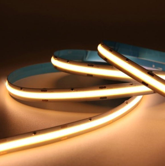 LED cob strip Australia dimmable dot free dot less light adjustable lighting kitchen island bench strip