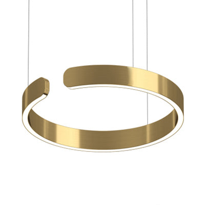 Enso Gold Modern Halo Pendant Light 40cm, 60cm & 80cm