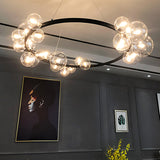 Juniper Contemporary Halo Pendant in 85cm and 120cm