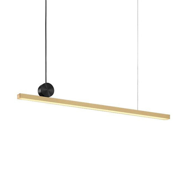 Luxe Modern Atypical Linear Pendant