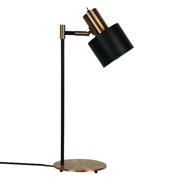 Marx Adjustable 53cm Mid-Century Task Lamp with Brushed Copper
